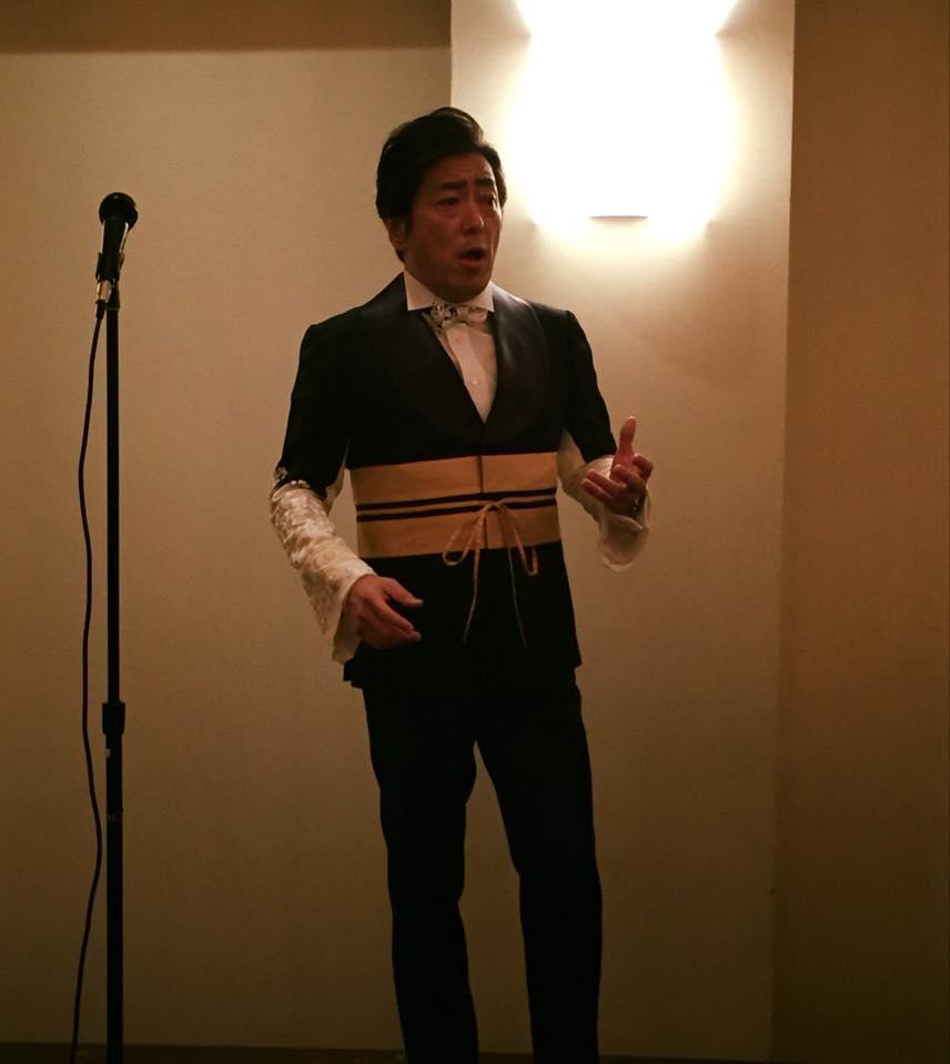 小栗成男氏著書『オグリズム』出版記念講演会『私と同志社、そして挑戦!』写真3