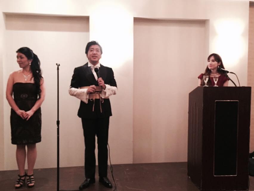 小栗成男氏著書『オグリズム』出版記念講演会『私と同志社、そして挑戦!』写真5