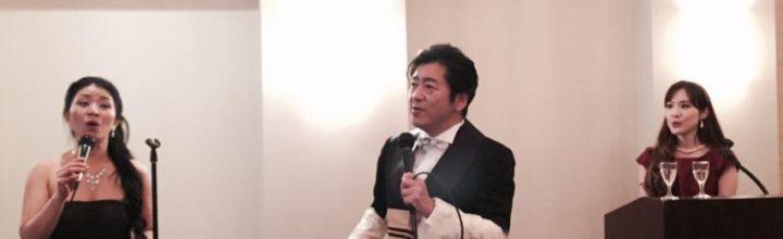 小栗成男氏著書『オグリズム』出版記念講演会『私と同志社、そして挑戦!』